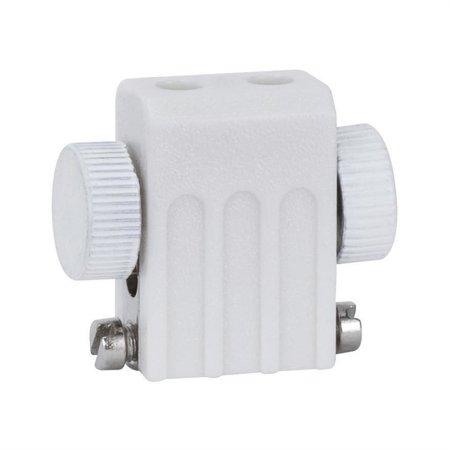 Seilsystem Lampenhalter GX5,3 weiß