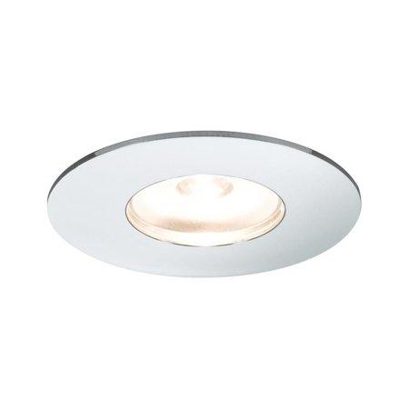 Set rund Mini LED 5x1W Chrom