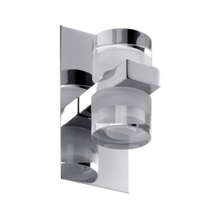 Strahler/Spiegelleuchte Diadem LED 2x3,5W 2700K IP44 Chrom