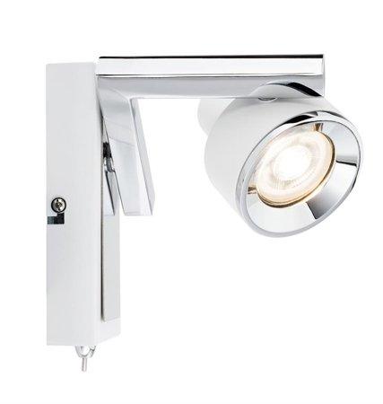 Strahler Spotlight Turn GU10 weiß Chrom