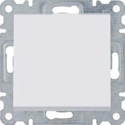 Taster 1-polig, weiß WL0110 Lumina Hager