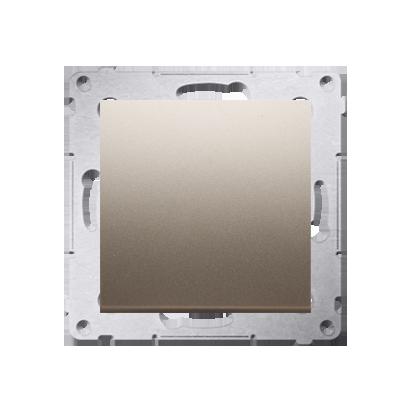 Taster 1fach (Modul) Gold matt Kontakt Simon 54 Premium DP1A.01/44