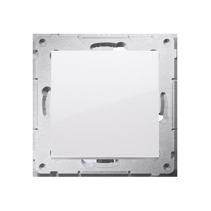 Taster 1fach (Modul) ohne Aufdruck Schraubklemmen weiß  Simon 54 Premium Kontakt Simon DP1A.01/11