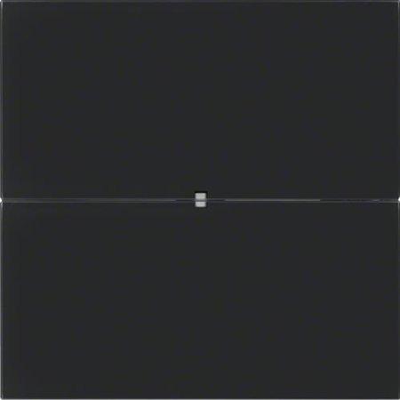 Tastsensor 2fach B.IQ Glas schwarz Hager 75162092