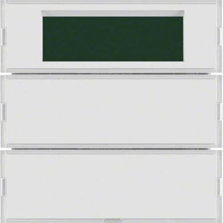 Tastsensor 2fach mit RTR Display S.1/B.3/B.7 für weiß und polarweiß Hager 75662780