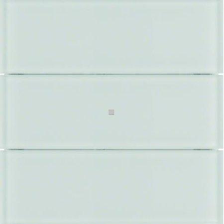 Tastsensor 3fach B.IQ Glas polarweiß Hager 75163090