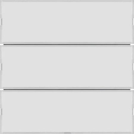 Tastsensor 3fach Komfort mit Beschriftungsfeld KNX S.1/B.x weiß/polarweiß Hager 80163780
