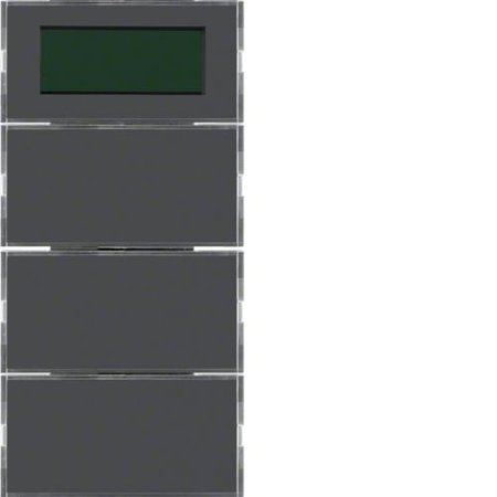 Tastsensor 3fach mit RTR, Display B.3/B.7 Hager 75663785