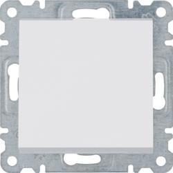 Teppenschalter weiß 1polig Lumina Hager WL0020