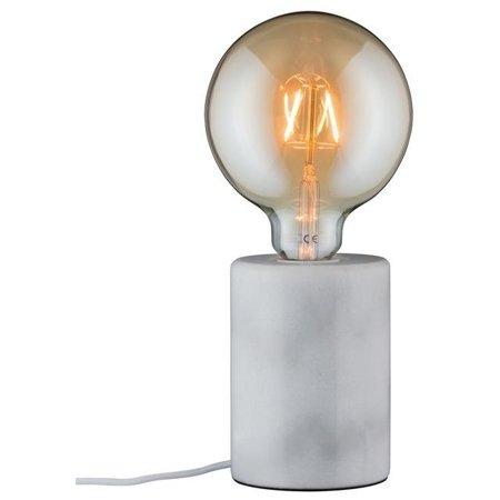 Tischlampe Neordic NORDIN E27 - weiß Marmor Paulmann PL79601