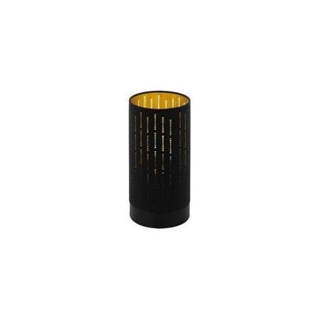Tischlampe PINTO NERO 1 schwarz, gold E27 40W 98314 EGLO