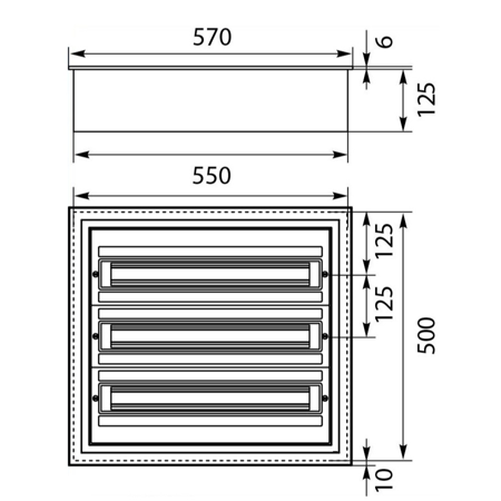 Unterverteilung DARP-72 Quiteline 3x24 IP54 Elektro-Plast 9.324