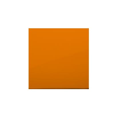 Wippe 1 fach für Schalter/ Taster orange glänzend Simon 54 Premium Kontakt Simon  DKW1/32