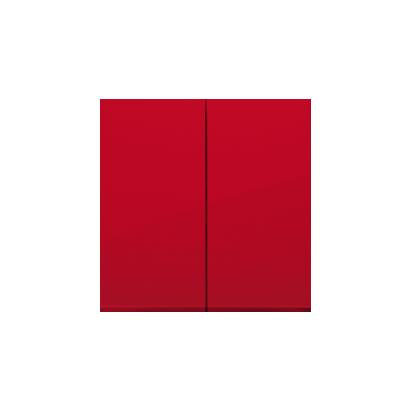 Wippe 2fach für Schalter/ Taster rot glänzend Simon 54 Premium Kontakt Simon  DKW5/22