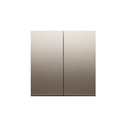 Wippe für Schalter/Taster 2fach Gold Simon 54 Premium Kontakt Simon DKW5/44