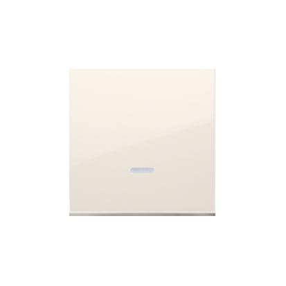 Wippe für Schalter/Taster mit Linse cremeweiß matt Simon 54 Premium Kontakt Simon DKW1L/41
